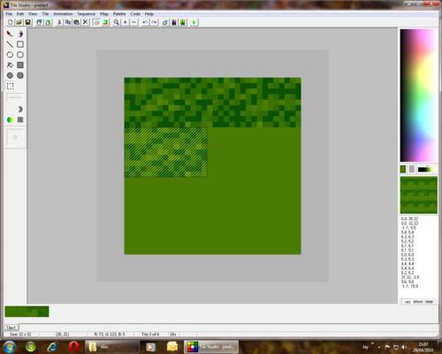 Meruvia Pixel Art Tutoriel 1
